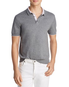 The Men's Store at Bloomingdale's - Tipped Classic Fit Knit Polo Shirt - 100% Exclusive