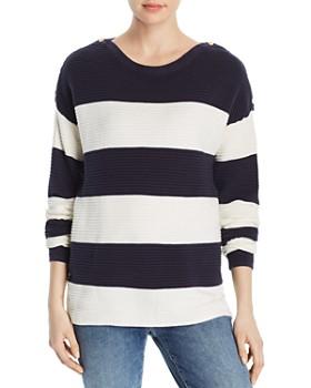 Vero Moda - Seth Long Sleeve Boat Neck Sweater