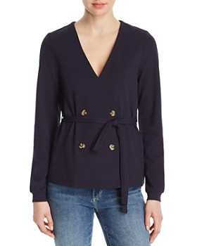 Vero Moda - Allison Double-Breated Button Top