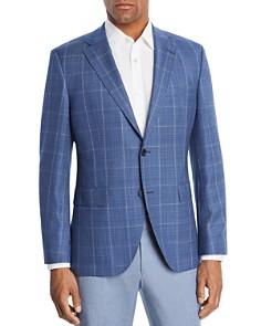 BOSS - Jewels Windowpane Regular Fit Sport Coat