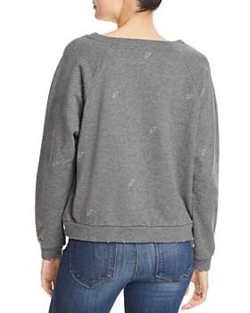 Honey Punch - Lightning Embroidered Sweatshirt