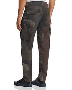 G-STAR RAW - Rovic Zip 3D Straight Slim Jeans in Gray Asfalt