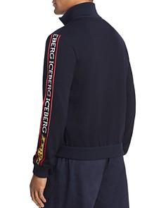 Iceberg - Logo-Striped Track Jacket