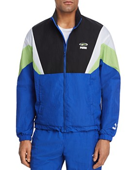 PUMA - 90s Retro Color-Block Jacket