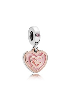 PANDORA - Sterling Silver & Cubic Zirconia Path to Love Charm