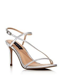 AQUA - Women's Ron High-Heel Sandals - 100% Exclusive