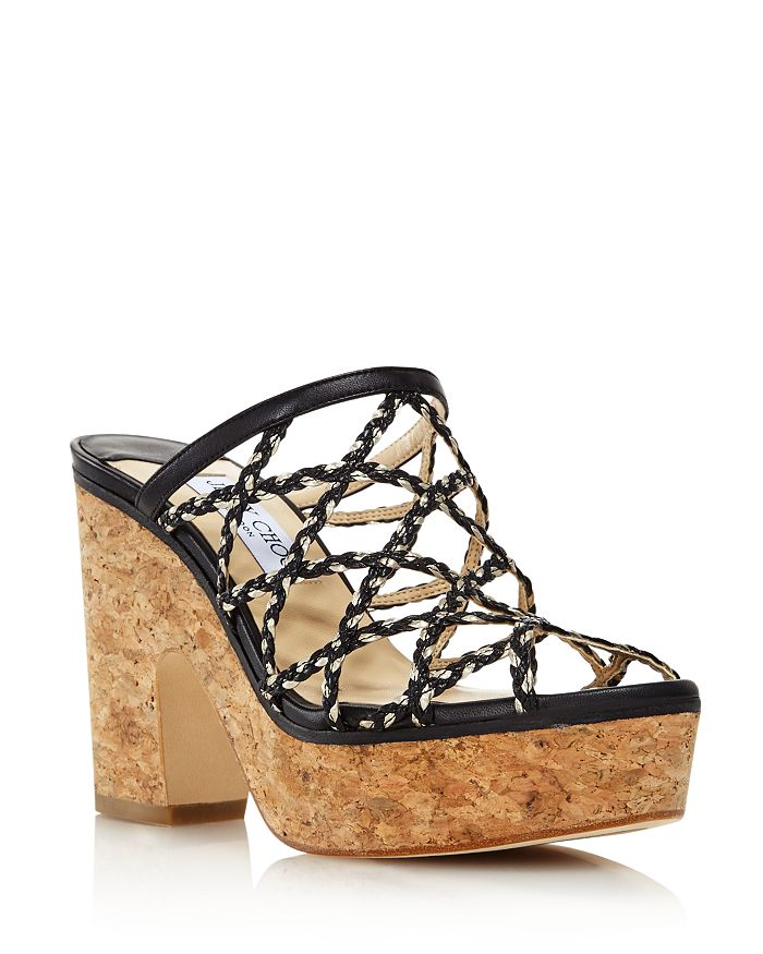 2a0de622c1ef Jimmy Choo - Women s Dalina Caged Platform Sandals