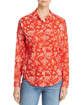 Scotch & Soda - Oversized Boxy Fit Shirt