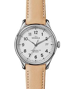 Shinola - The Vinton Tan Leather Strap Watch, 38mm