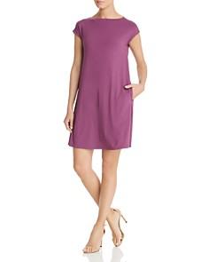 Eileen Fisher - Cap-Sleeve Shift Dress
