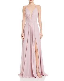 Faviana Couture - Illusion Plunge Gown