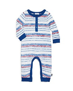 Splendid - Boys' Faded-Stripe Henley Coverall - Baby