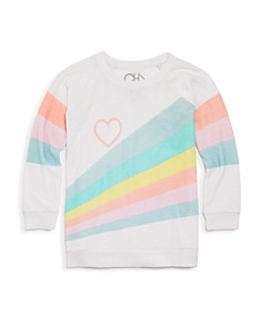 CHASER - Girls' Pastel Sunshine Tee - Little Kid, Big Kid