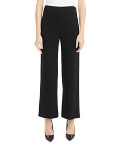 Theory - Cropped Wide-Leg Pants