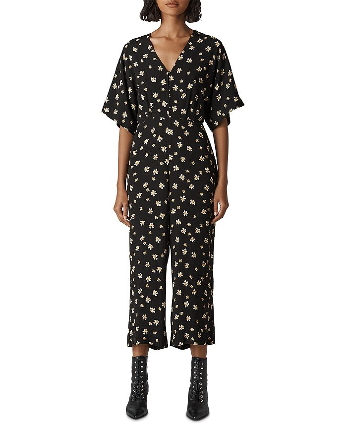 Whistles - Edelweiss-Print Cropped Jumpsuit
