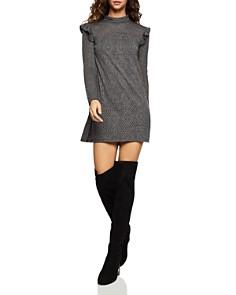 BCBGeneration - Ruffled Pointelle A-Line Dress