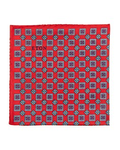 Eton - Squares Neat Silk Pocket Square