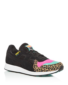 PUMA - Men's RS-100 Party Suede Low-Top Sneakers