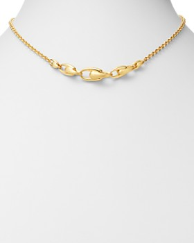 "Marco Bicego - 18K Yellow Gold Lucia Link Necklace, 16.5"" - 100% Exclusive"
