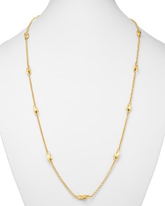 """Marco Bicego - 18K Yellow Gold Legami Long Station Necklace, 36"""""""