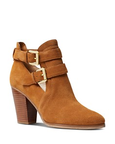 MICHAEL Michael Kors - Women's Walden Buckled Ankle Booties
