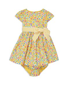 Ralph Lauren - Girls' Floral Fit-and-Flare Dress & Bloomers Set - Baby
