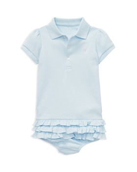 2581eb0aa Ralph Lauren - Girls' Ruffled Polo Dress & Bloomers Set - Baby ...
