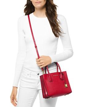 MICHAEL Michael Kors - Medium Leather Accordion Messenger Bag