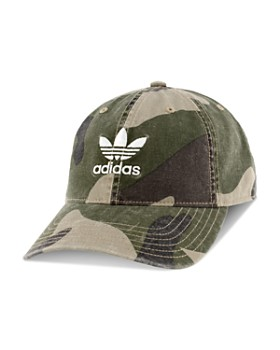 f42daf7fa40 adidas Originals - Relaxed Camouflage-Print Hat ...