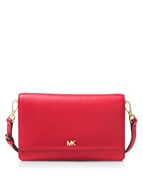 5ef18d1ead1a MICHAEL Michael Kors - Leather Smartphone Crossbody ...