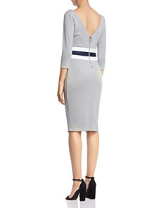 Bailey 44 - Commodore Ponte V-Back Sheath Dress