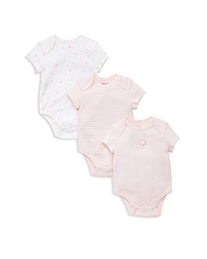 Little Me Girls Lion Stra  Striped 3Piece Bodysuit Set  Baby