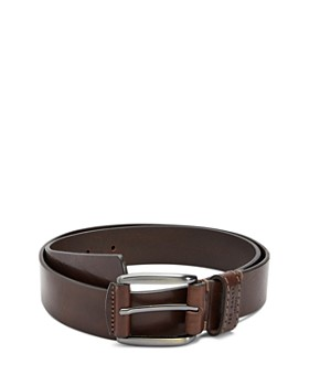Ted Baker - Perc Stitch Detail Leather Belt