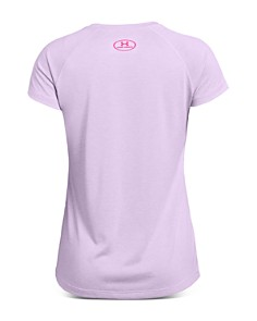 Under Armour - Girls' Big Logo Tee - Big Kid