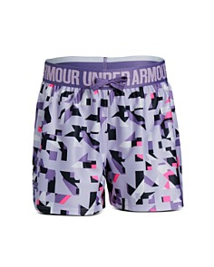Under Armour - Girls' Play Up Printed Performance Shorts - Big Kid