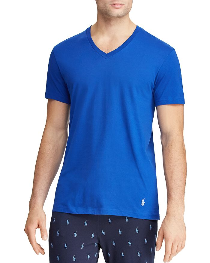 8c75ad0aee82 Polo Ralph Lauren Wicking Classic Fit V-Neck Tee - Pack of 3 ...