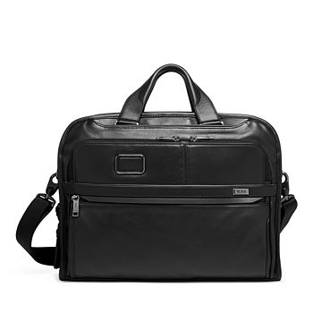 Tumi - Alpha 3 Leather Organizer Portfolio Brief