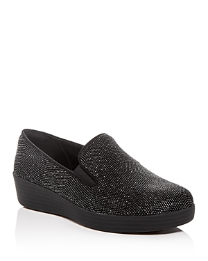 Fitflop FITFLOP WOMEN'S SUPERSKATE EMBELLISHED LOAFERS