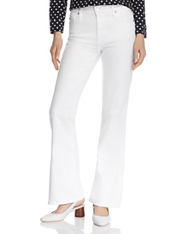 AG - Quinne Flare Jeans in White
