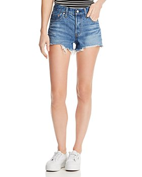 Levi's - 501 Cutoff Denim Shorts in Indigo Ave