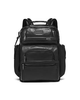 Tumi - Alpha 3 Leather Brief Pack ... 06802be7c78c6