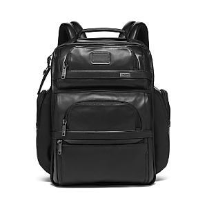 Tumi Alpha 3 Leather Brief Pack-Home