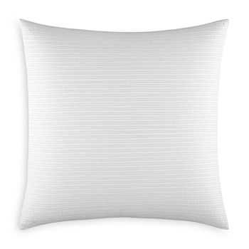 Vera Wang - Textured Pinstripe Euro Sham - 100% Exclusive