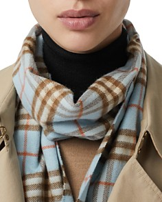 Burberry - Giant Check Cashmere Scarf