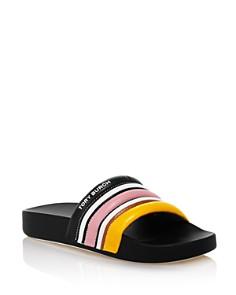 Tory Burch - Women's Striped Slide Sandals