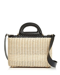 Celine Lefebure - Marguerite Wicker Bag - 100% Exclusive