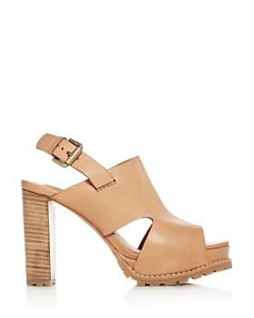 9a7a067f9b ... See by Chloé - Women's Slingback Platform High-Heel Sandals