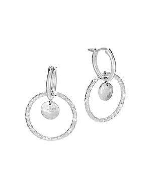 John Hardy Sterling Silver Dot Interlink Drop Earrings
