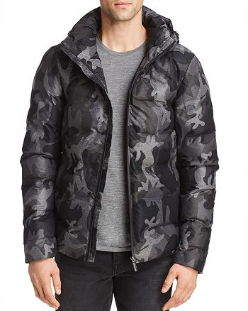 Superdry - Echo Camouflage-Print Quilted Puffer Jacket