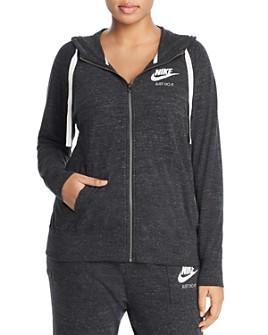 Nike Plus - Gym Vintage Full Zip Hoodie